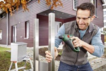 Bosch DIY Akku-Bohrhammer Uneo, Akku, Ladegerät, Betonbohrer, Universalbohrer, Bits, Koffer (10,8 V, 1,5 Ah, max. Bohr-Ø Metall: 8 mm, Beton: 10 mm, Holz: 10 mm) -