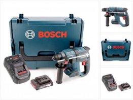 Bosch GBH 18 V-EC brushless Bohrhammer Professional SDS-Plus in L-Boxx mit GAL 1880 CV Schnellladegerät und 1x GBA 2 Ah Akku -