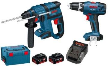 Bosch Professional Akku-Bohrhammer und Bohrschrauber, 0615990G14 -