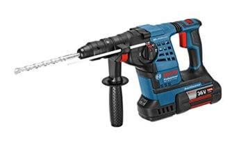 Bosch Professional GBH 36 VF-LI Plus Akku-Bohrhammer, 2 x 4,0 Ah Akku, SDS-plus Wechselfutter, 36 V, L-Boxx, 0611907002 -
