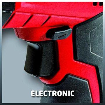 Einhell Akku Bohrhammer TE-HD 18 Li Power X-Change (1,5 Ah Li Ion Akku, 18 V, 1,2 J, Bohrleistung in Beton 12 mm, SDS-plus-Aufnahme, LED-Licht) -