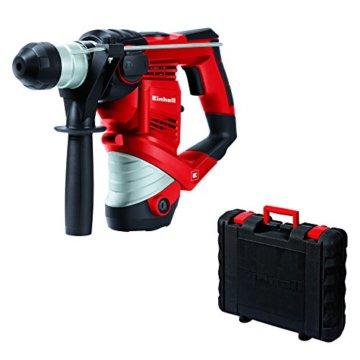Einhell Bohrhammer TC-RH 900/1 (900 W, 3 J, Bohrleistung in Beton Ø 26 mm, SDS-Plus-Aufnahme, Metall-Tiefenanschlag, Koffer) -